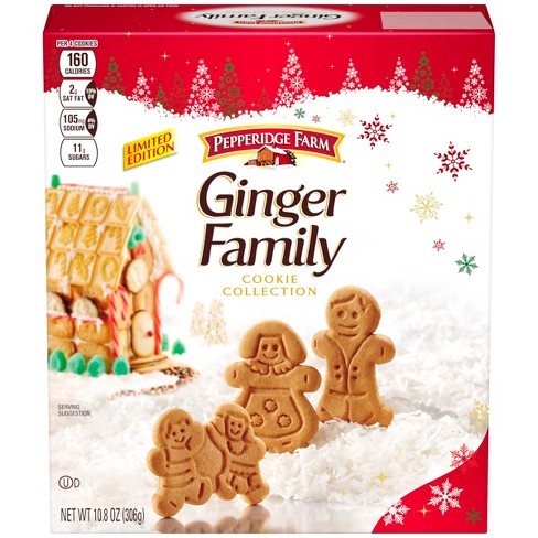 Pepperidge Farm Ginger Family Gingerbread Cookies 10 8oz