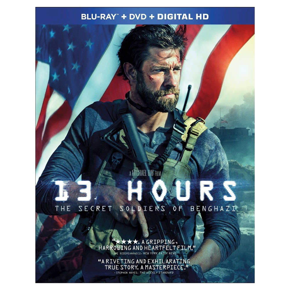 13 Hours Blu Ray Dvd Digital