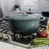Crock Pot Artisan 7Qt Oval Dutch Oven Gray - image 2 of 3