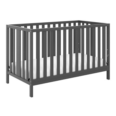 Storkcraft Pacific 4-in-1 Convertible Crib - Gray