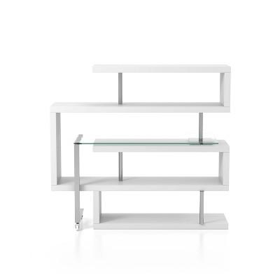 Rycel Modular L-Shape Bookshelf Desk - miBasics