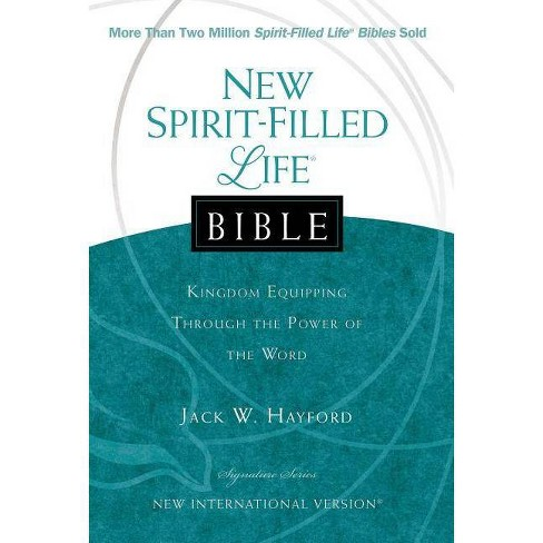 New Spirit-Filled Life Bible-NIV-Signature - by  Thomas Nelson (Hardcover) - image 1 of 1