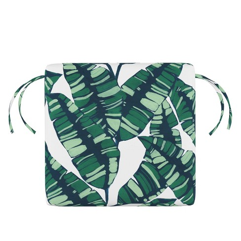 Palm Springs Outdoor Seat Cushion Green - Skyline Furniture - image 1 of 4
