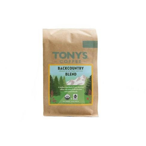 Tony's Coffee Backcountry Blend Dark Roast Ground Coffee - 12oz - image 1 of 3