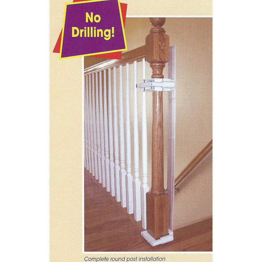Image of KidCo Stairway Baby Gate Installation Kit, White