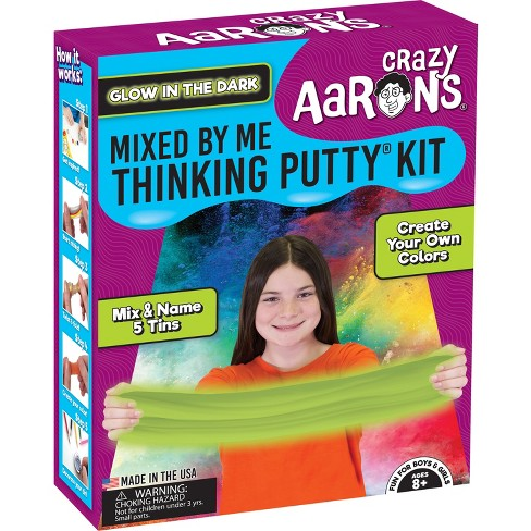 Crazy Aaron's Thinking Putty Mixed by Me Kit - Glow - image 1 of 2