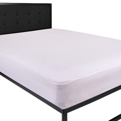 Flash Furniture Capri Comfortable Sleep Premium Fitted 100% Waterproof-Hypoallergenic Vinyl Free Mattress Protector - Breathable Smooth Fabric Surface