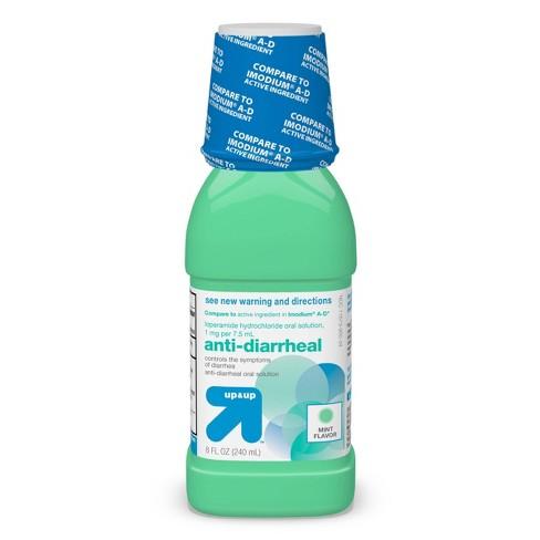 Loperamide Anti-Diarrheal Suspension - Mint - 8 fl oz - up & up™ - image 1 of 4