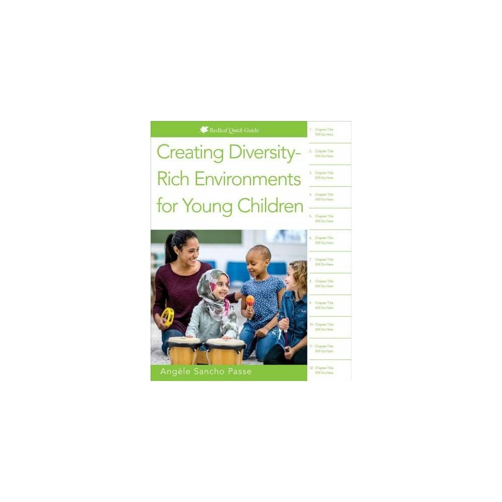 Creating Diversity-rich Environments for Young Children - by Angèle Sancho Passe (Paperback)