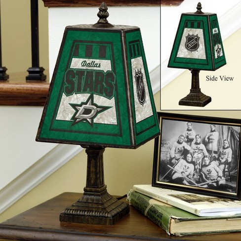 NHL Dallas Stars Art Glass Table Lamp - image 1 of 1