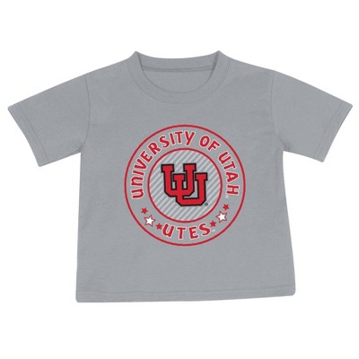 NCAA Utah Utes Toddler Boys' 2pk Short Sleeve T-Shirt
