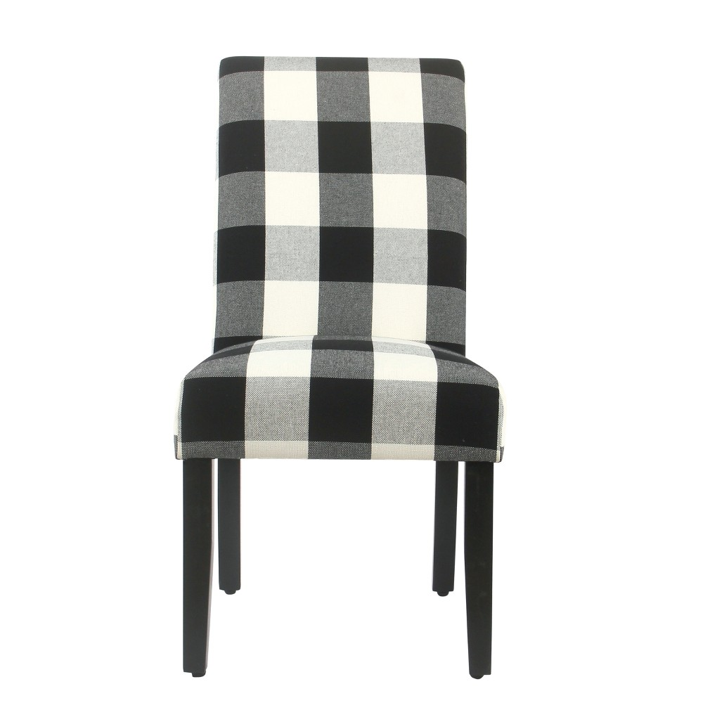 Set of 2 Parsons Dining Chair Black - Homepop was $279.99 now $209.99 (25.0% off)