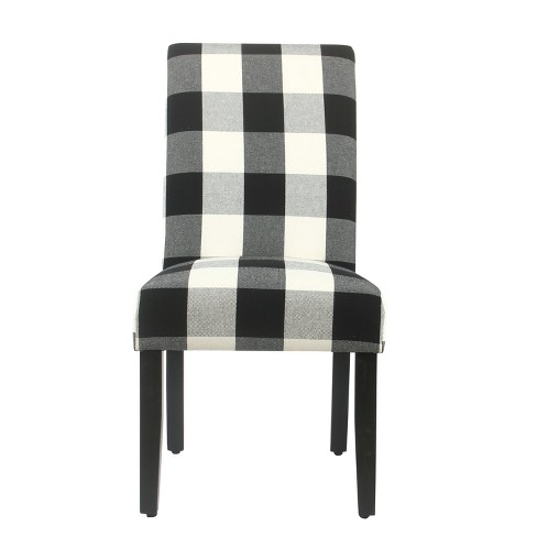 Parsons Dining Chair  (Set of 2) - Plaid - HomePop - image 1 of 7