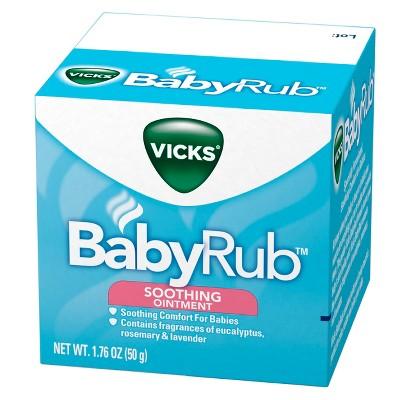 Vicks BabyRub Soothing Ointment - 1.76oz