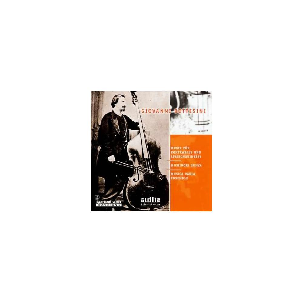 M Bunya / Musica Vari - Bottesini:Musik Fur Kontrabass Und (CD)