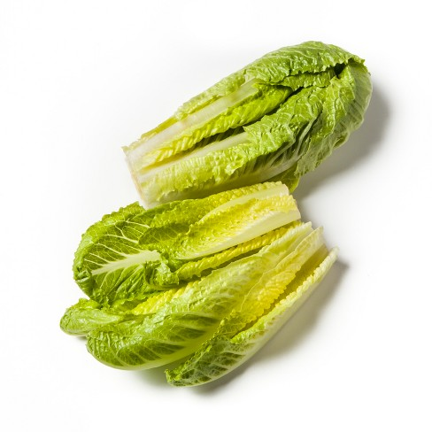 Organic Washed and Trimmed Romaine Lettuce - 7oz - image 1 of 2