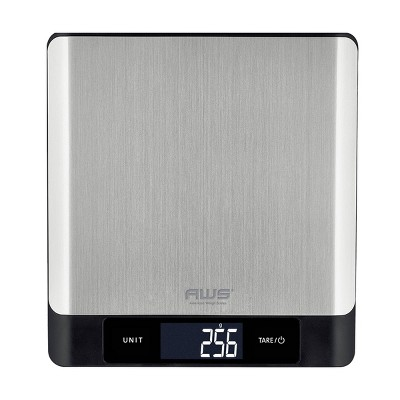 American Weigh Scales Wizard 11lbs Digital Bluetooth Kitchen Scale with App for IOS and Andorid