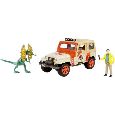 Jurassic World Legacy Collection - Dennis Nedry Getaway Pack (Target Exclusive)