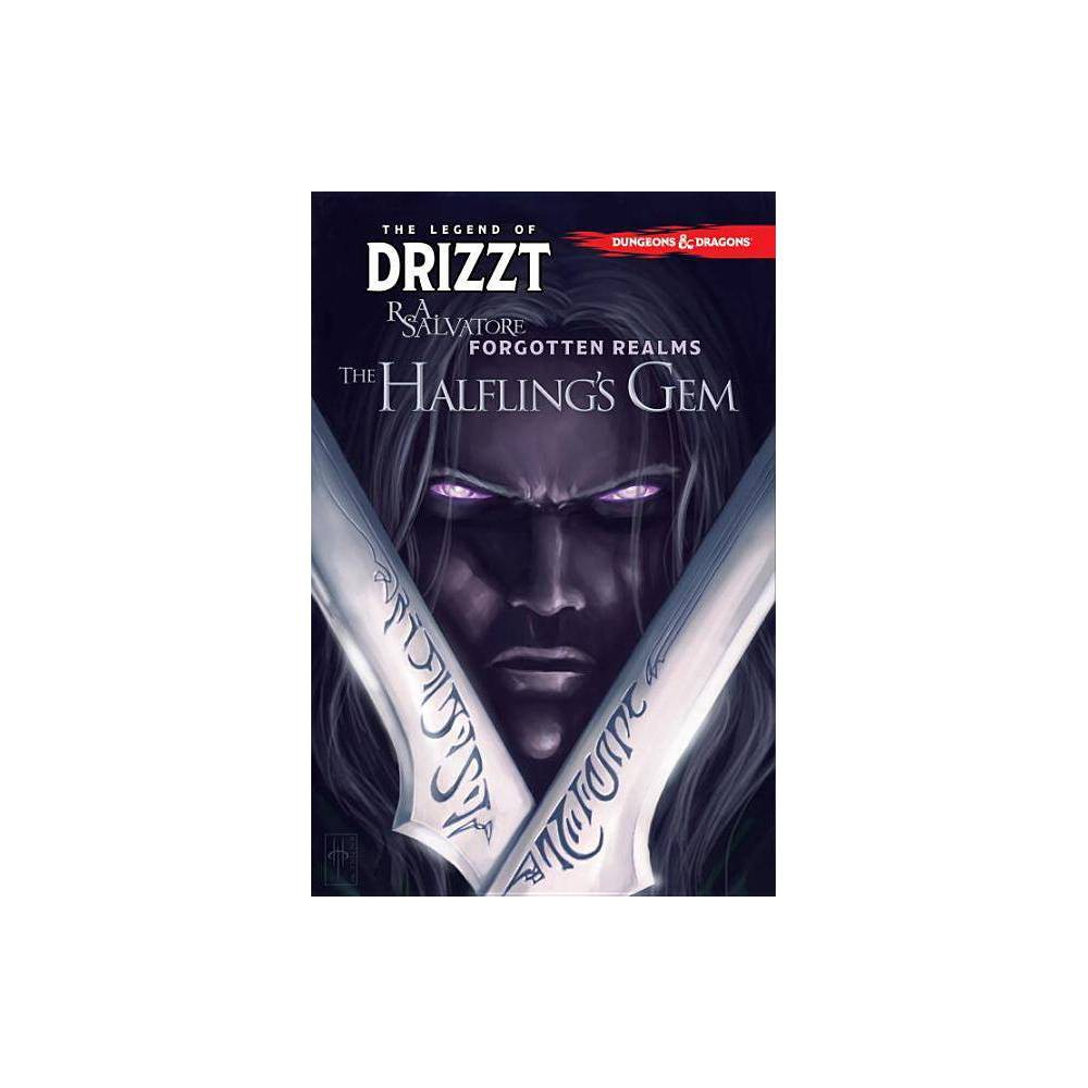Dungeons & Dragons: The Legend of Drizzt Volume 6 - The Halfling's Gem - by R A Salvatore (Paperback) Robert Anthony Salvatore, who writes under the name R. A. Salvatore, is an American author best known for The DemonWars Saga, his Forgotten Realms novels, for which he created the popular character Drizzt Do'Urden, and Vector Prime, the first novel in the Star Wars: The New Jedi Orderseries. He has sold more than 15 million copies of his books in the United States alone and twenty-two of his titles have been New York Times best-sellers. Robert Salvatore was born in Leominster, Massachusetts, the youngest of a family of seven. A graduate of Leominster High School, Salvatore has credited his high school English teacher with being instrumental in his development as a writer. During his time at Fitchburg State College, he became interested in fantasy after reading J. R. R. Tolkien's The Lord of the Rings, given to him as a Christmas gift. He developed an interest in fantasy and other literature, promptly changing his major from computer science to journalism. He earned a Bachelor of Science Degree in Communications/Media from Fitchburg. He earned this degree in 1981 and later a Bachelor of Arts in English. Before taking up writing full-time, he worked as a bouncer, an experience to which he attirbutes his fierce and vividly described battle scenes. In the fall of 1997, his letters, manuscripts, and other professional papers were donated to the R.A. Salvatore Library at his alma mater, Fitchburg State University in Fitchburg, Massachusetts.