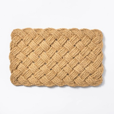 Lovers Knot Door Mat Natural - Threshold™ designed with Studio McGee