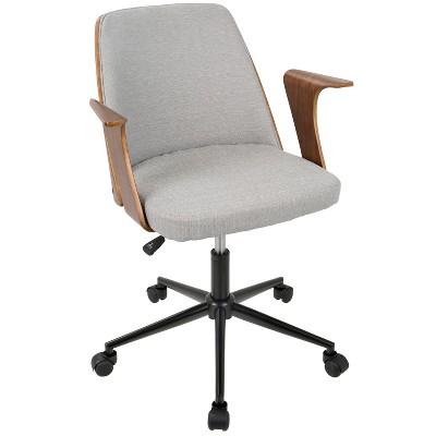 Verdana Mid Century Modern Office Chair - Lumisource