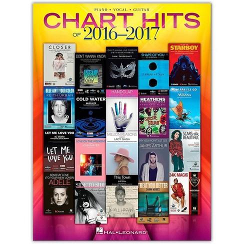 Hal Leonard Chart Hits of 2016 - 2017 P/V/G Piano/Vocal/Guitar - image 1 of 1