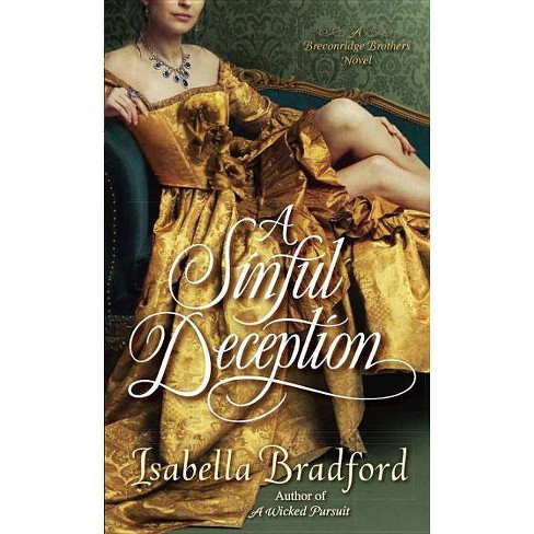 A Sinful Deception - (Breconridge Brothers)by  Isabella Bradford (Paperback) - image 1 of 1