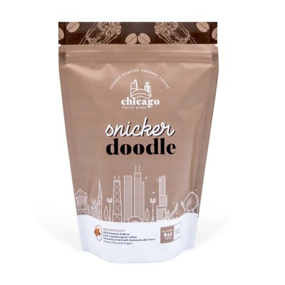 Chicago French Press  Snicker Doodle Medium Roast Coffee - 8oz