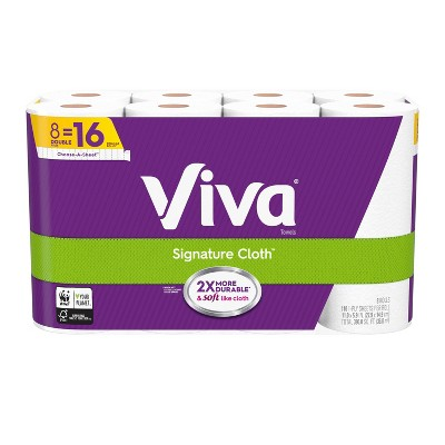 Viva Choose-a-Sheet Paper Towels - 8 Double Rolls