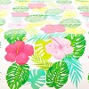 """Sparkle and Bash 3 Pack Floral Plastic Tablecloth Table Cover 54""""x108"""" for Hawaiian Luau Party Supplies - image 4 of 4"""