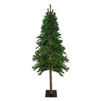 Northlight 6' Prelit Artificial Christmas Tree Alpine - Multi Lights