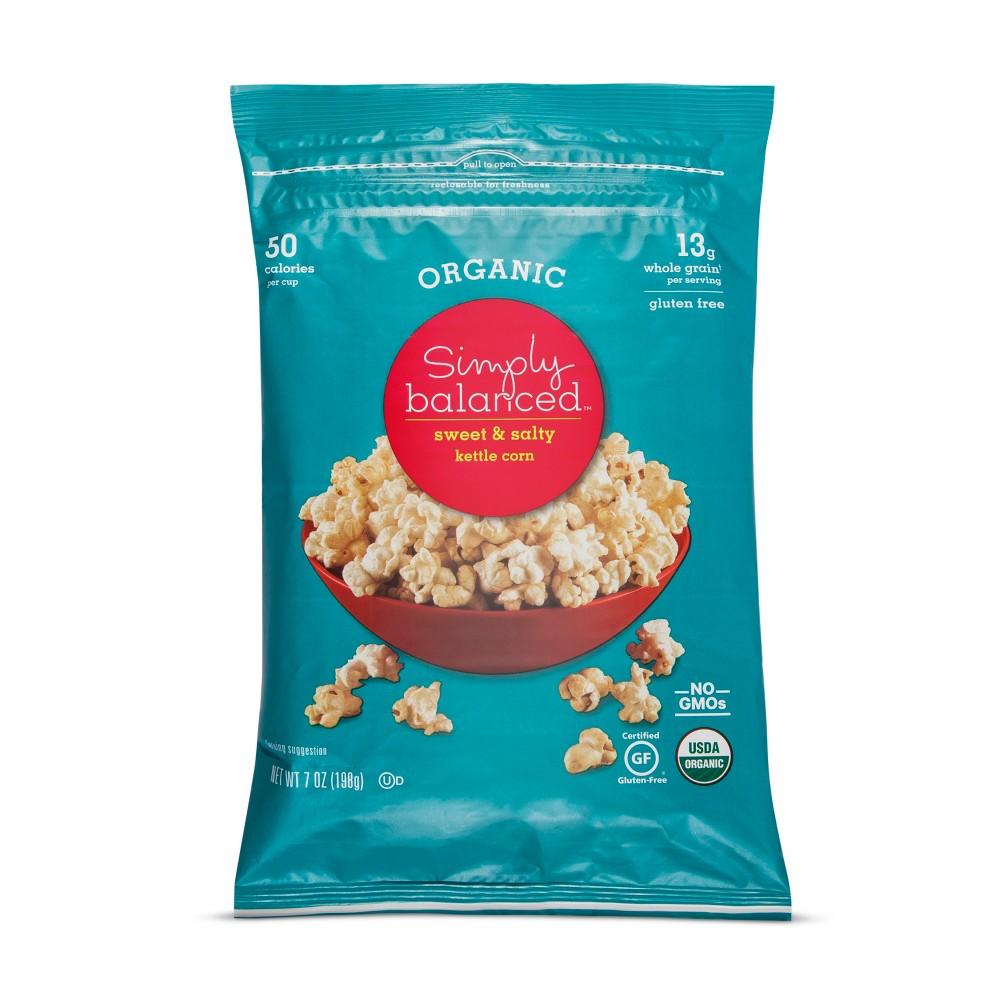 Sweet & Salty Kettle Corn - 7oz - Simply Balanced