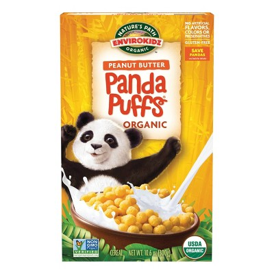 Nature's Path Envirokidz Panda Puffs Breakfast Cereal - 10.6oz