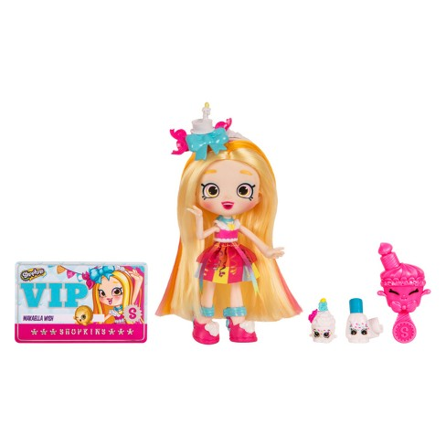 Shopkins® Shoppies Doll - Makaella Wish - image 1 of 6