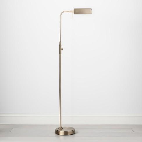 Pharmacist Task Floor Lamp Includes Energy Efficient Light Bulb Threshold Target