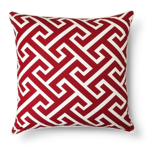 Oversized Greek Key Throw Pillow - Threshold™ - image 1 of 1