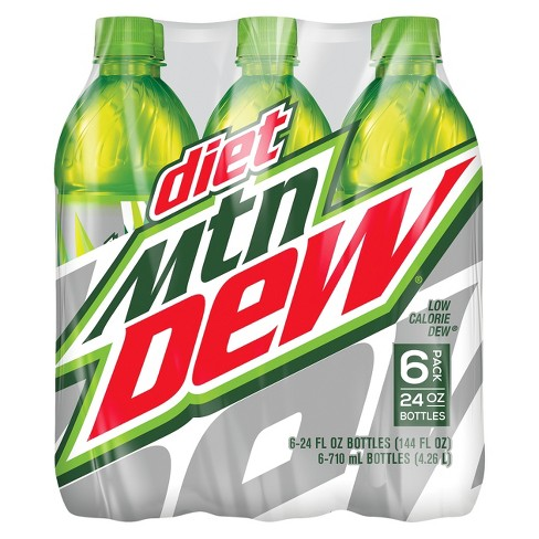 Diet Mountain Dew Citrus Soda - 6pk/24 fl oz Bottles - image 1 of 1