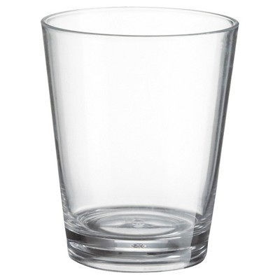 Felli 15oz 6pk Acrylic Single Wall Double Old-Fashioned Tumblers