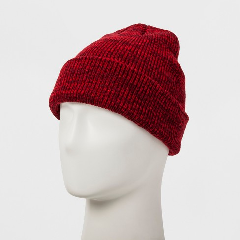 Men s Cuff Knit Beanie - Original Use™ Red One Size   Target efb3948514f