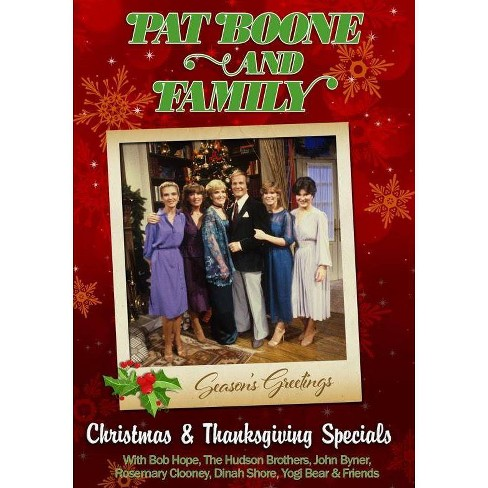 Pat Boone & Family: Christmas & Thanksgiving Special (DVD) - image 1 of 1