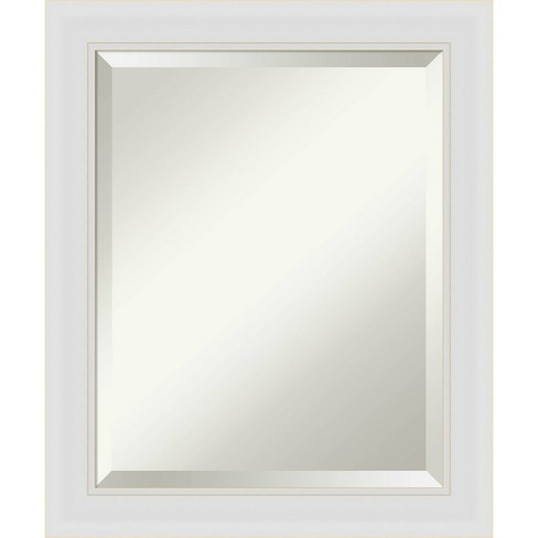 20 X 24 Flair Framed Bathroom Vanity Wall Mirror Soft White Amanti Art Target