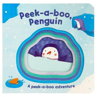 Peek-A-Boo Penguin - (Peek-A-Boo Books) (Board Book)