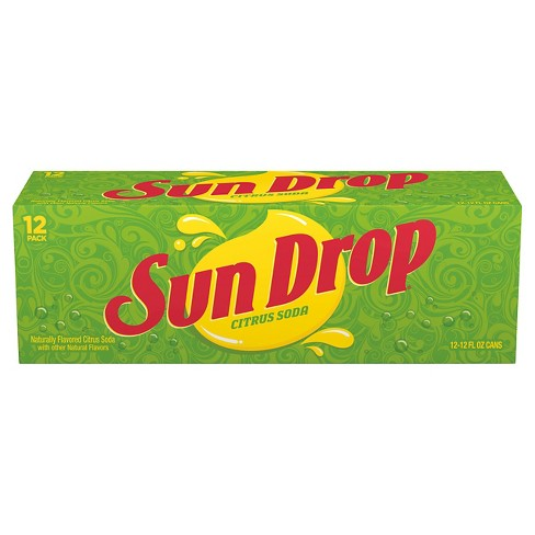 Sun Drop Soda - 12pk/12 fl oz Cans - image 1 of 1