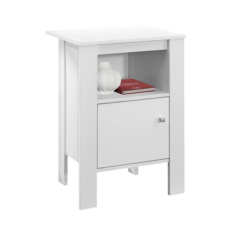 Accent Table/Night Stand - White - EveryRoom - image 1 of 2