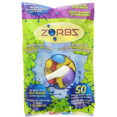 Zorbz Zorbz Self-Seal Water Balloons, Pack of 50 - image 1 of 1