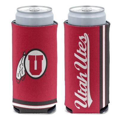 NCAA Utah Utes Slim Can Cooler