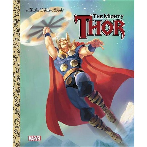 The Mighty Thor - (Little Golden Books (Random House)) by  Billy Wrecks (Hardcover) - image 1 of 1