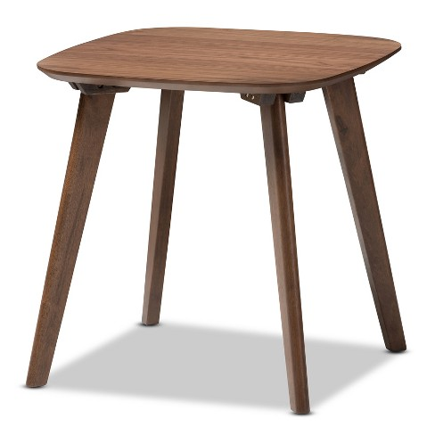 "Dahlia Mid - Century Modern End Table - ""Walnut"" Brown - Baxton Studio - image 1 of 5"