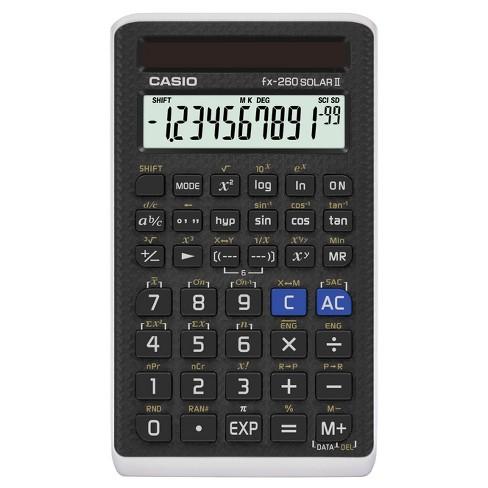 Casio Fx 260solarii Scientific Calculator Target