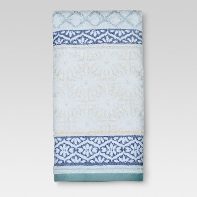 Hand Towel Pattern Filled Stripe - Multi - (16 x27 )- Threshold™